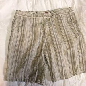 Tommy Bahama linen and silk shorts